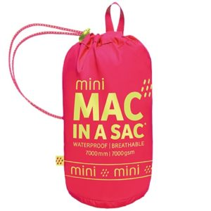 MAC IN A SAC ΑΔΙΑΒΡΟΧΟ ORIGIN ΓΙΑ ΠΑΙΔΙΑ NEON PINK
