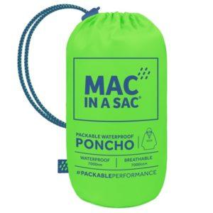 MAC IN A SAC PONCHO ΠΡΑΣΙΝΟ ΝΕΟΝ