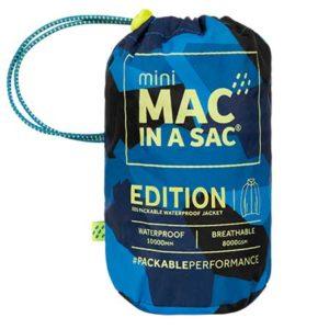 MAC IN A SAC ΑΔΙΑΒΡΟΧΟ EDITION ΓΙΑ ΠΑΙΔΙΑ BLUE CAMO